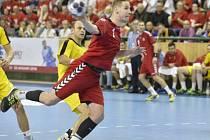 Jakub Hrstka se výraznou měrou podílel na kvalifikační výhře nad Makedonií.