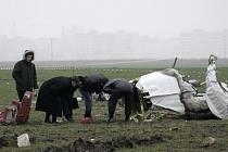 Vyšetřovatelé u spadlého českého chartrového letounu blízko Kyjeva