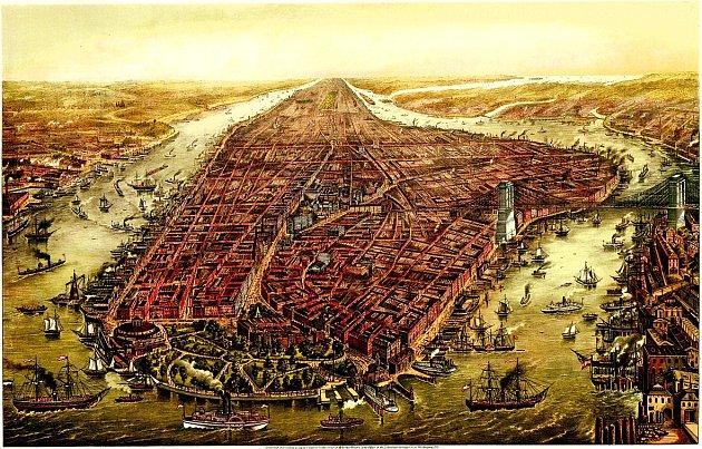 Město v roce 1873.