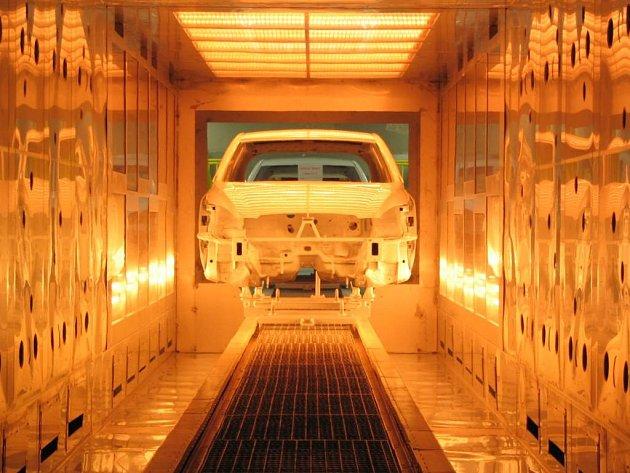 Výroba auta v Žilině.
