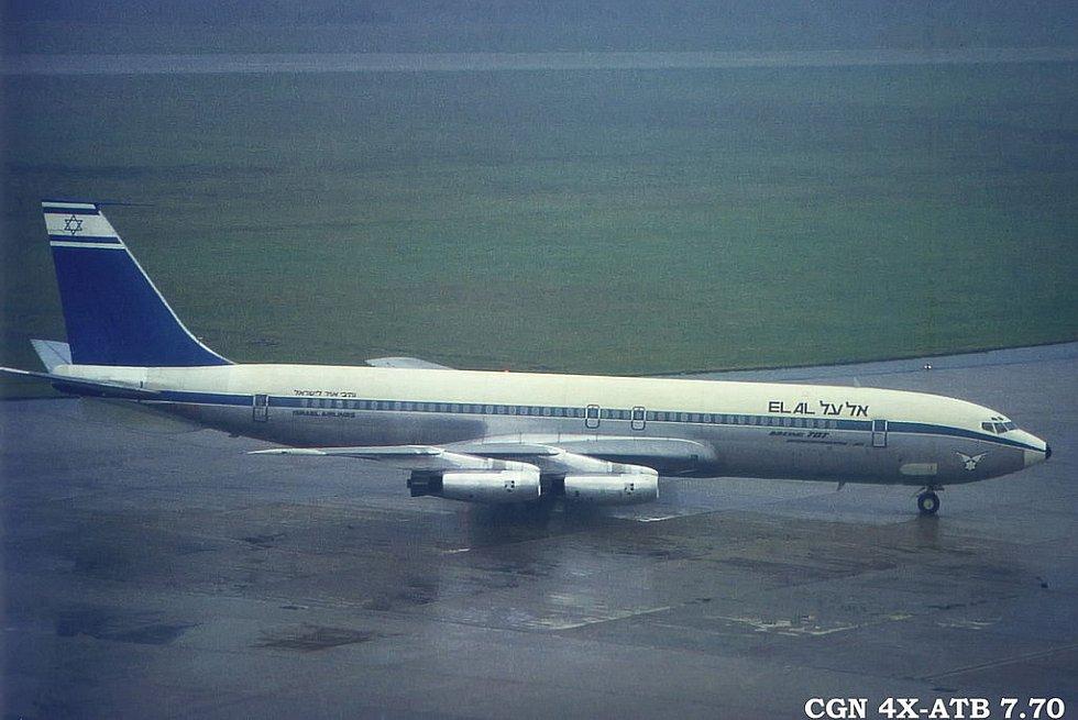 El Al Boeing 707-458 v Cologne
