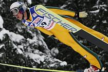 Gregor Schlierenzauer vyhrál sobotní závod v Engelbergu.