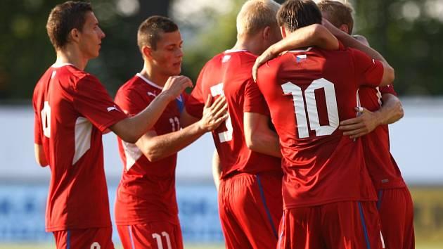 Česká lvíčata zdolala Wales hladce 5:0.