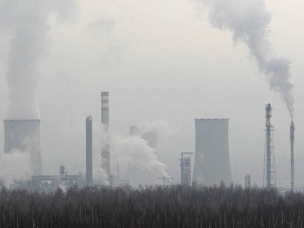 Chemička Unipetrol v Litvínově