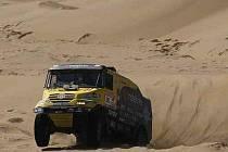 Aleš Loprais na Rallye Dakar 2012.