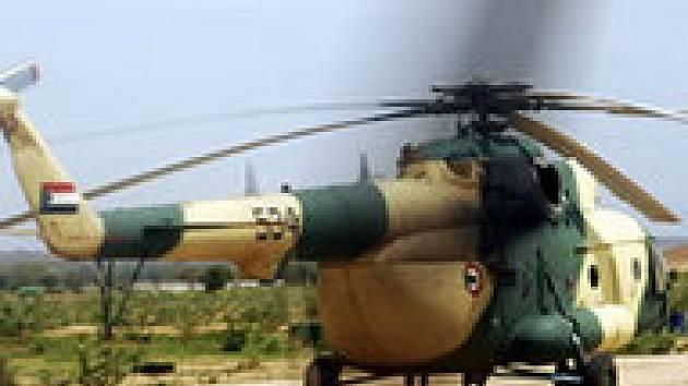 Vrtulník Mi-24 v Dárfúru