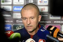Asistent trenéra české fotbalové reprezentace Jiří Chytrý