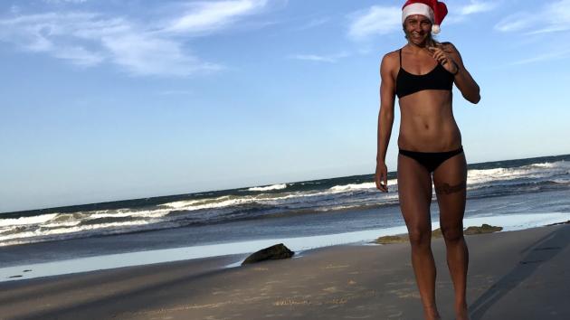Barbora Závadová tráví svátky v Austrálii.