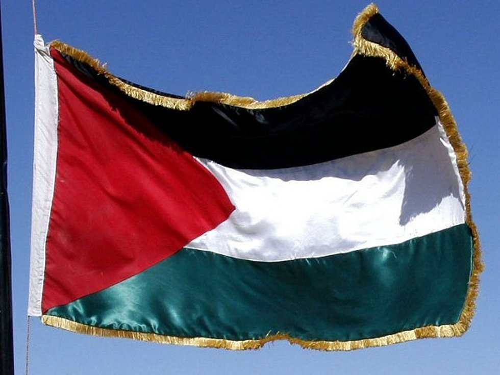 Palestina - vlajka - ilustrační foto