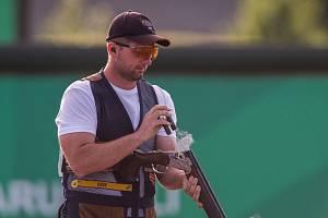 Sportovní střelec Tomáš Nýdrle.
