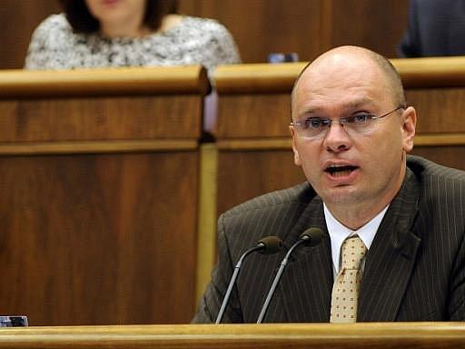 Bývalý předseda slovenského parlamentu Richard Sulík
