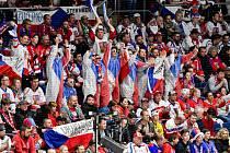 Čeští fanoušci v Bratislavě