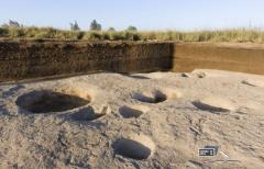 Naleziště vesnice z delty Nilu