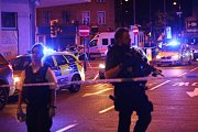 Londýn; útok před mešitou