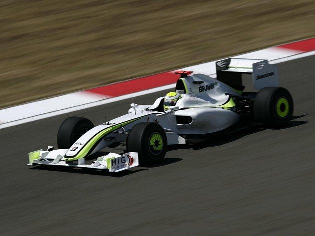 Vítěz šesti letošních závodů F1 Jenson Button.