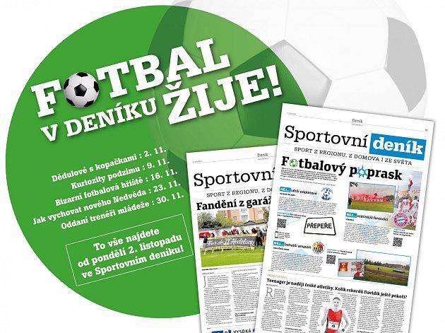 Fotbal vDeníku žije!