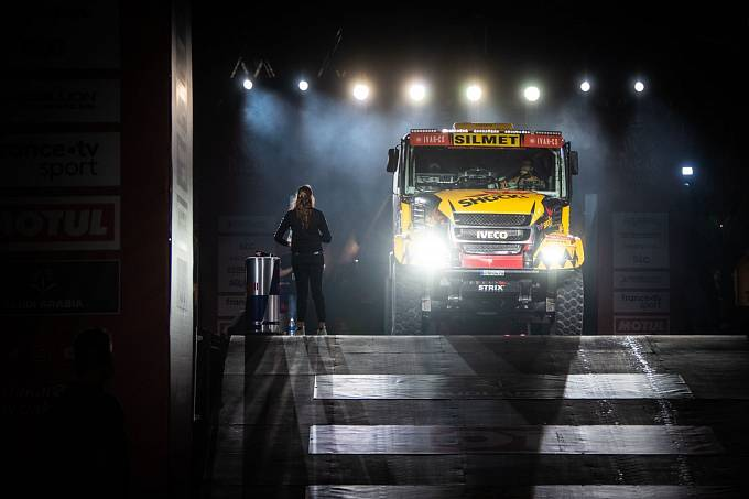 František Tomášek je důležitým článkem kamionové posádky týmu Big Shock! Racing