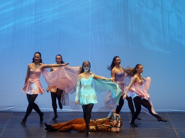 Představení Irish Dance Show - Swan legend.