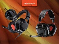 Herní sluchátka Plantronics.