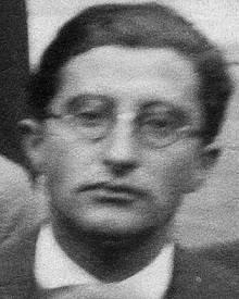 Georg Placzek v roce 1934 v Londýně