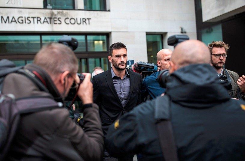 Hugo Lloris míří k soudu.