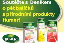 Přírodní produkty Humer.