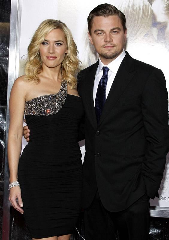 Pevné přátelství: Kate Winslet a Leonardo DiCaprio.