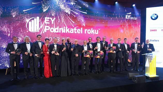 Slavnostní předávání ocenění EY Podnikatel roku 2018
