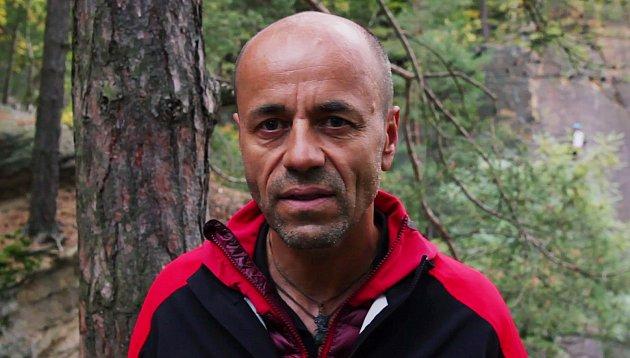 Český horolezec Radek Jaroš.