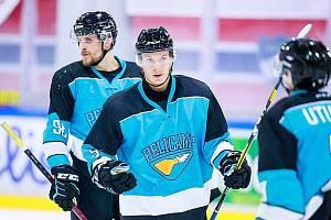 Lukáš Jašek v dresu finského Pelicans.