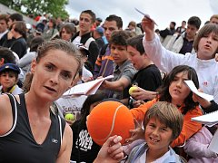 Iveta Benešová porazila ve 2. kole French Open Rusku Kudrjavcevovou.