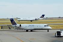 Letadla regionálních aerolinek United Express.