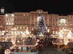 Vánoční trh v Linci
