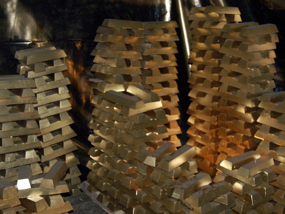 V současnosti je JAR pátým největším těžařem zlata. Ilustrační foto.