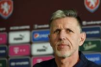 Trenér fotbalové reprezentace Jaroslav Šilhavý