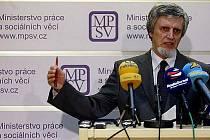 Petr Šimerka, ministr práce a sociálních věcí