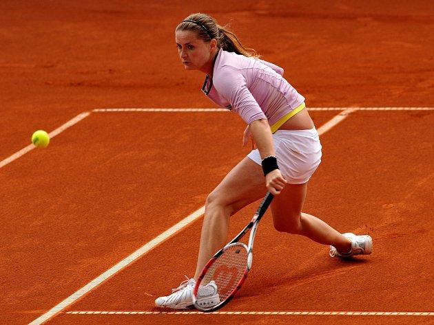 Iveta Benešová na antukovém turnaji ECM Prague Open.