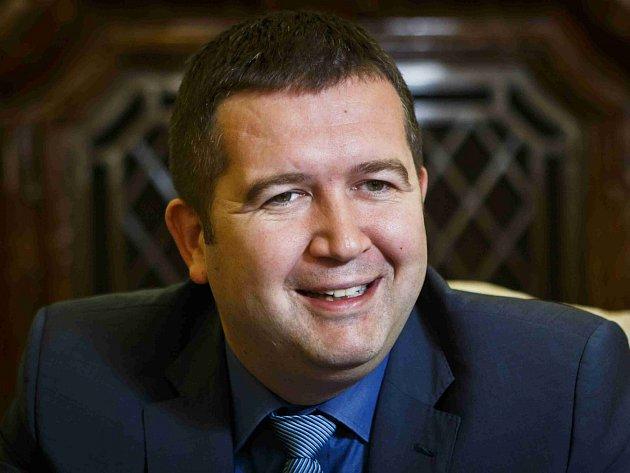 Jan Hamáček, předseda Poslanecké sněmovny