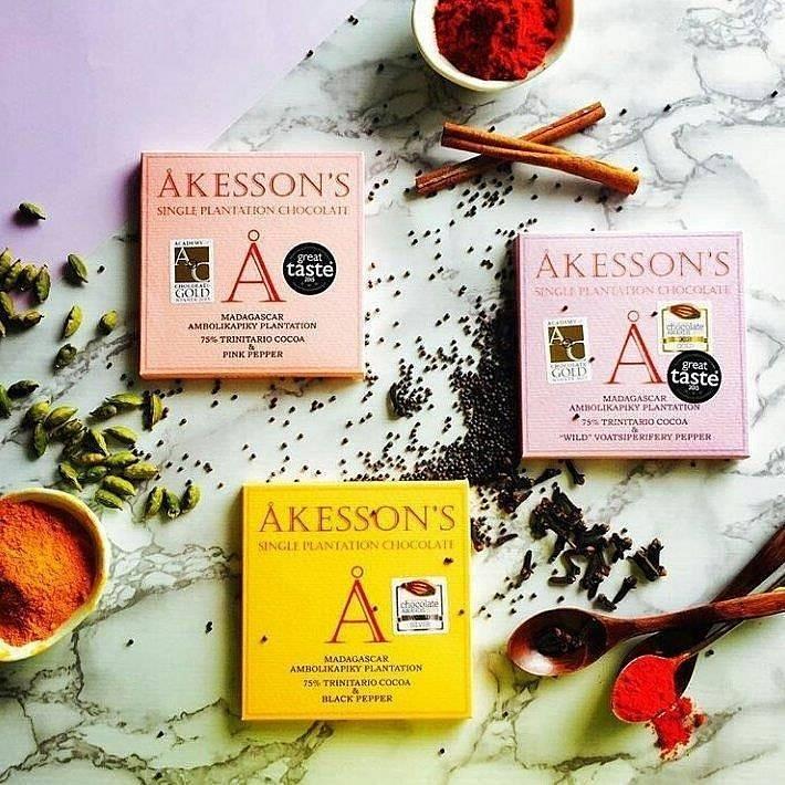 Čokolády Akesson