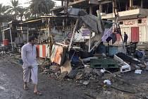 V Bagdádu sebevražedný útočník zabil 19 lidí a zranil 28.