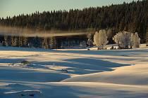 Zimní počasí, sníh, mráz - ilustrační foto