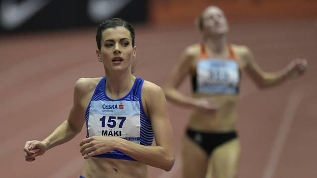 Kristiina Mäki vybojovala v běhu na 1500 metrů 3. místo.