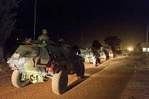 Obrněná vozidla francouzské armády v Mali