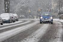 Silné sněžení zasáhlo nečekaně i britskou metropoli Londýn