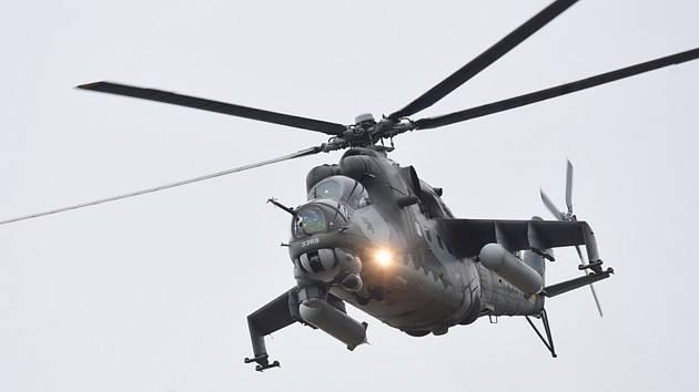 Bitevní vrtulník Mi-24