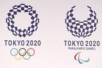 Nová loga pro olympijské a paralympijské hry 2020 v Tokiu.