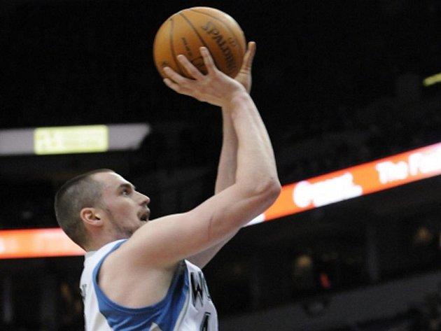 Basketbalista Minnesoty Kevin Love.