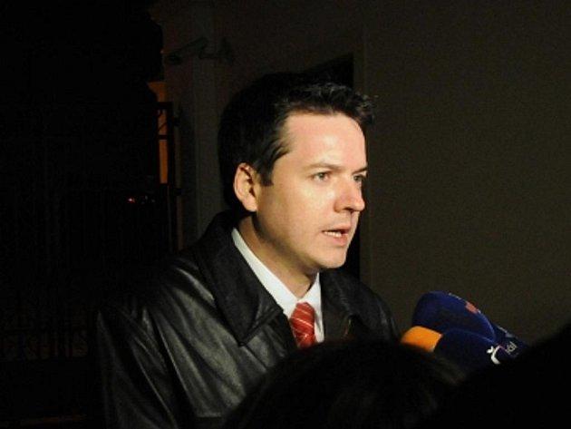Bývalý mluvčí české vlády Jan Osúch.