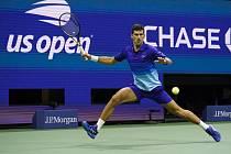 Srbský tenista Novak Djokovič