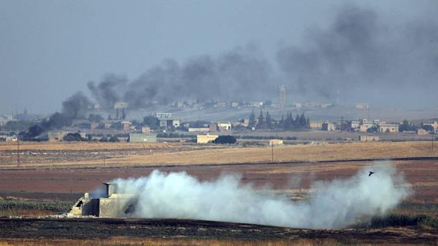 Turecký útok na Sýrii